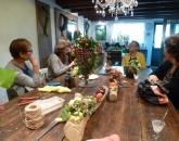 Workshop: boomstam opvullen met herfstmaterialen.