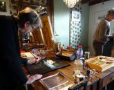 DSSchilderlessen in het atelier