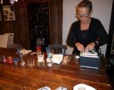 Workshop glaasjes en gloeilampjes beschilderen met glasverf e.d