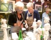 Workshop textielverharder met Annemarie /slagerskunst.nl