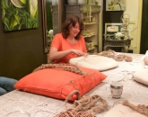 Macramé hangers maken voor het tuinfeest
